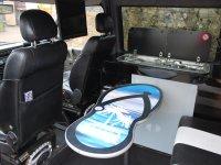 interior of a rockinvan