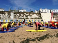 One of our fun surf lessons