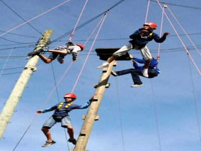 Mill on the Brue High Ropes