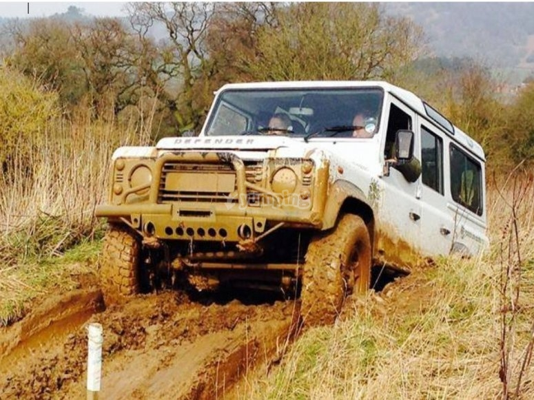 4x4 experience gets muddy!