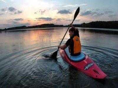 David Hall Training Kayaking