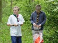 Novice orienteering course