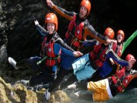 Canyoning is great fun with friends