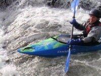 Kayaking white water adventures