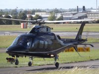 Augusta 109 taking off