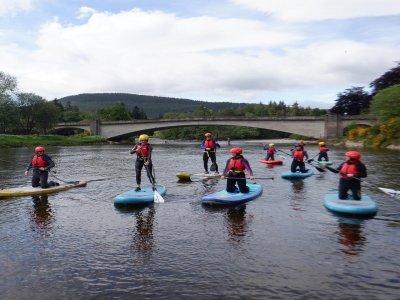 Aquaplay Scotland Stand Up Paddleboarding