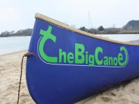A Big Canoe for up to 12 paddlers plus helms
