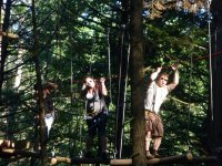 Outdoor high ropes