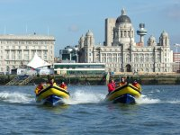 Powerboating on the River Mersey