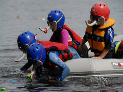 YMCA National Centre Lakeside Rafting