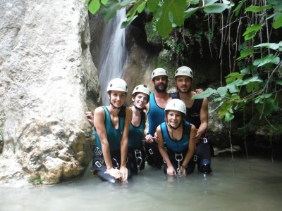 Canyoning in Los Marines half day with pictures