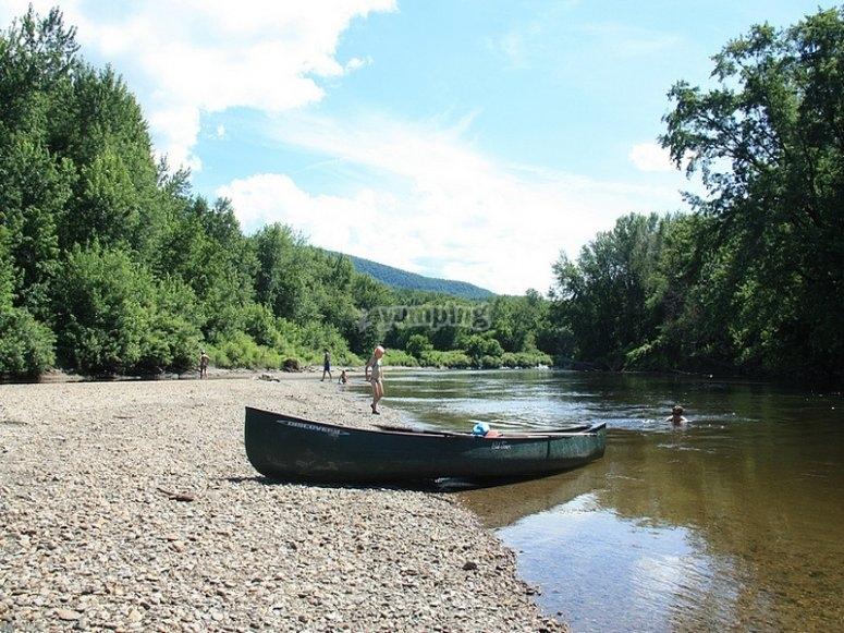 Canoeing with David Hendrickse