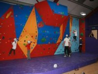 3 metre high bouldering wall