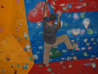 You will encounter various bouldering problems