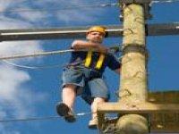 High rope fun