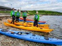 Kayaking at North Ayrshire