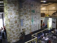 Spectators can relax in the Granite Planet Climbing Centre Café