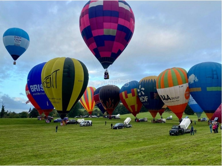 Ballooning experience in Bath