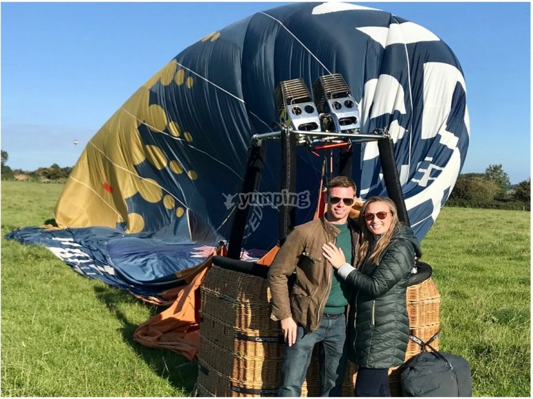 Couples ballooning