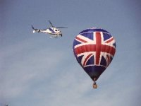 Our Union Jack balloon