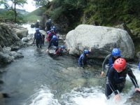 Canyoning is a great activity to do with friends