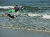 Splashing about!