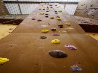 Graded climbing routes