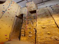 You will find a variety of climbing surfaces
