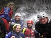 The whole family getting wet!