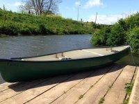 Spacious canoe