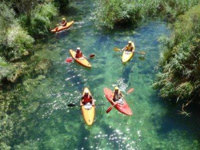 Open-kayak in the upper Tajo full day