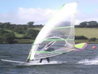 Harness the wind and fly across the water's surface