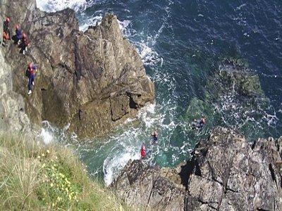 EBO Adventure Training Coasteering