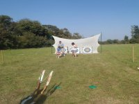 Archery on the Isle of Wight.