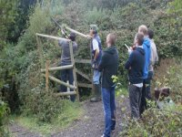 Clay Pigeon shooting on the Isle of Wight.
