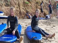 Surfing on the Isle of Wight