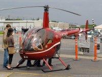 Fly the Robinson 22 for a more personal experience