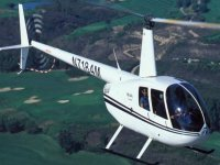 Or learn to fly in the more spacious Robinson 44