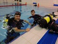 Pool diving