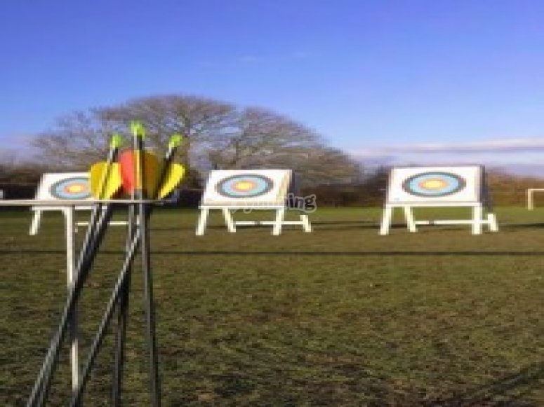 Our archery range