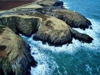 You'll traverse the beautiful Pembrokeshire coastline