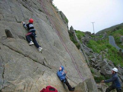 Adrenalin Antics Climbing