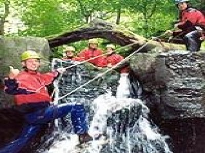 The Wilderness Centre Canyoning