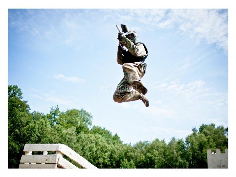 Incredible jump