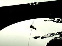 Bridge abseiling
