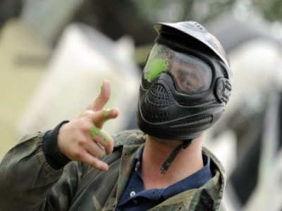 1 Hour Paintball Tournament Wickford