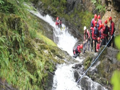 National White Water Centre Canyoning