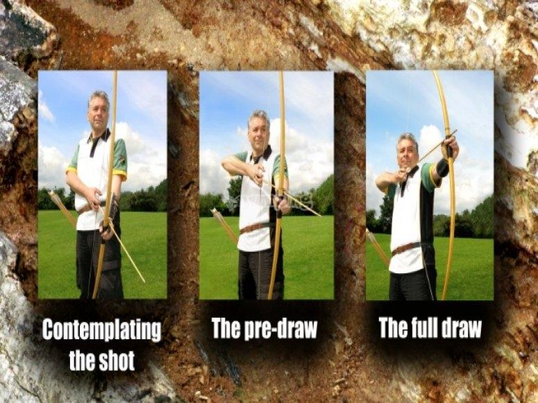 English Longbow shooting