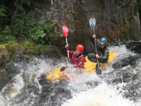 Take on a challenge in river kayaking