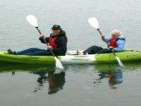 Pair kayaking